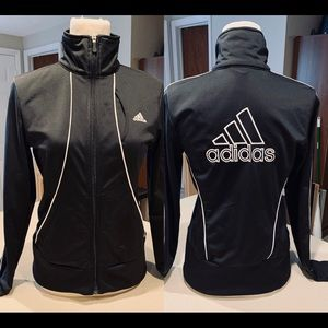 NWOT Black & White Adidas Jacket